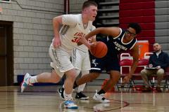 CIAC Boys Basketball; Wolcott vs. Ansonia - Photo # (336)
