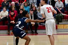 CIAC Boys Basketball; Wolcott vs. Ansonia - Photo # (420)