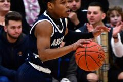 CIAC Boys Basketball; Wolcott vs. Ansonia - Photo # (421)