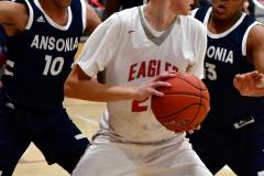 CIAC Boys Basketball; Wolcott vs. Ansonia - Photo # (427)