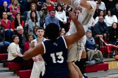 CIAC Boys Basketball; Wolcott vs. Ansonia - Photo # (432)