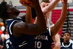 CIAC Boys Basketball; Wolcott vs. Ansonia - Photo # (443)