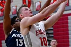 CIAC Boys Basketball; Wolcott vs. Ansonia - Photo # (457)
