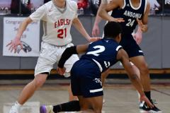 CIAC Boys Basketball; Wolcott vs. Ansonia - Photo # (462)