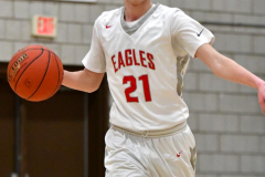 CIAC Boys Basketball; Wolcott vs. Ansonia - Photo # (558)