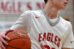 CIAC Boys Basketball; Wolcott vs. Ansonia - Photo # (562)
