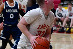 CIAC Boys Basketball; Wolcott vs. Ansonia - Photo # (572)