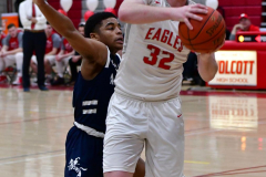 CIAC Boys Basketball; Wolcott vs. Ansonia - Photo # (586)