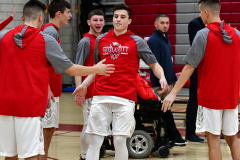 CIAC Boys Basketball; Wolcott vs. Ansonia - Photo # (78)
