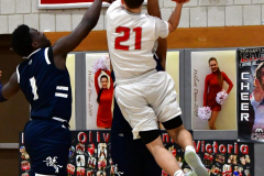 CIAC Boys Basketball; Wolcott vs. Ansonia - Photo # (785)