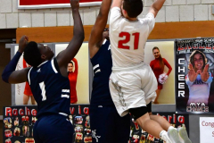 CIAC Boys Basketball; Wolcott vs. Ansonia - Photo # (786)