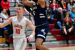 CIAC Boys Basketball; Wolcott vs. Ansonia - Photo # (820)