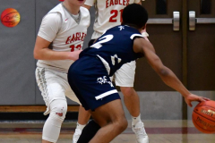 CIAC Boys Basketball; Wolcott vs. Ansonia - Photo # (838)
