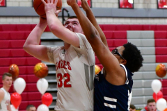 CIAC Boys Basketball; Wolcott vs. Ansonia - Photo # (842)