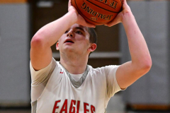 CIAC Boys Basketball; Wolcott vs. Ansonia - Photo # (873)