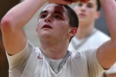 CIAC Boys Basketball; Wolcott vs. Ansonia - Photo # (892)
