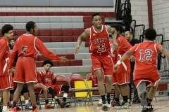 CIAC Boys Basketball; Wolcott 74 vs. Derby 58 - Photo # (29)