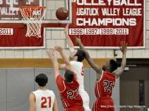 CIAC Boys Basketball; Wolcott 74 vs. Derby 58 - Photo # (44)