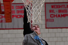 CIAC Boys Basketball; Wolcott 81 vs. Oxford 74 - Photo # 007