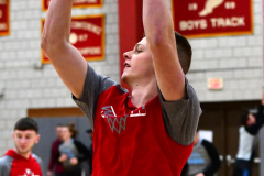 CIAC Boys Basketball; Wolcott 81 vs. Oxford 74 - Photo # 021
