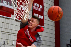 CIAC Boys Basketball; Wolcott 81 vs. Oxford 74 - Photo # 023
