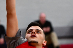 CIAC Boys Basketball; Wolcott 81 vs. Oxford 74 - Photo # 072