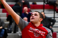CIAC Boys Basketball; Wolcott 81 vs. Oxford 74 - Photo # 082