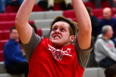 CIAC Boys Basketball; Wolcott 81 vs. Oxford 74 - Photo # 083