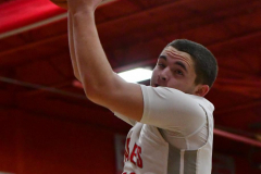 CIAC Boys Basketball; Wolcott 81 vs. Oxford 74 - Photo # 181