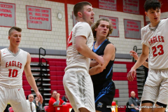 CIAC Boys Basketball; Wolcott 81 vs. Oxford 74 - Photo # 211