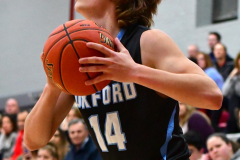 CIAC Boys Basketball; Wolcott 81 vs. Oxford 74 - Photo # 214