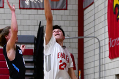 CIAC Boys Basketball; Wolcott 81 vs. Oxford 74 - Photo # 253