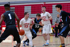 CIAC Boys Basketball; Wolcott 81 vs. Oxford 74 - Photo # 264