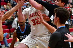 CIAC Boys Basketball; Wolcott 81 vs. Oxford 74 - Photo # 270