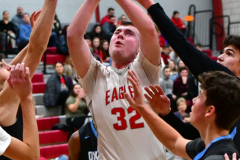 CIAC Boys Basketball; Wolcott 81 vs. Oxford 74 - Photo # 271