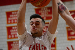 CIAC Boys Basketball; Wolcott 81 vs. Oxford 74 - Photo # 283
