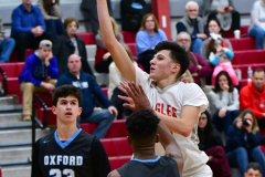 CIAC Boys Basketball; Wolcott 81 vs. Oxford 74 - Photo # 290