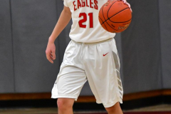 CIAC Boys Basketball; Wolcott 81 vs. Oxford 74 - Photo # 296