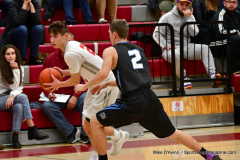 CIAC Boys Basketball; Wolcott 81 vs. Oxford 74 - Photo # 303