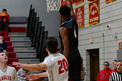 CIAC Boys Basketball; Wolcott 81 vs. Oxford 74 - Photo # 362