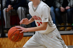CIAC Boys Basketball; Wolcott 81 vs. Oxford 74 - Photo # 372