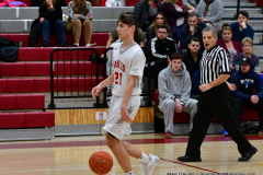 CIAC Boys Basketball; Wolcott 81 vs. Oxford 74 - Photo # 373