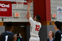 CIAC Boys Basketball; Wolcott 81 vs. Oxford 74 - Photo # 383