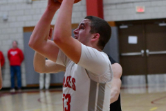 CIAC Boys Basketball; Wolcott 81 vs. Oxford 74 - Photo # 425