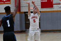 CIAC Boys Basketball; Wolcott 81 vs. Oxford 74 - Photo # 433