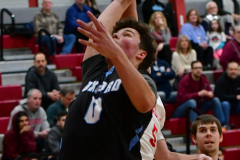 CIAC Boys Basketball; Wolcott 81 vs. Oxford 74 - Photo # 438