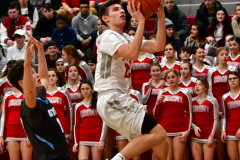 CIAC Boys Basketball; Wolcott 81 vs. Oxford 74 - Photo # 514