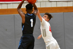 CIAC Boys Basketball; Wolcott 81 vs. Oxford 74 - Photo # 542