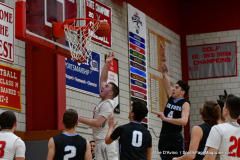 CIAC Boys Basketball; Wolcott 81 vs. Oxford 74 - Photo # 555