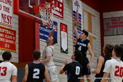 CIAC Boys Basketball; Wolcott 81 vs. Oxford 74 - Photo # 556
